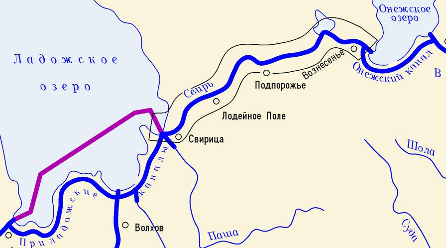 Куда течет река тихвинка схема